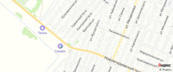 Улица Шишкина на карте Рубцовска с номерами домов