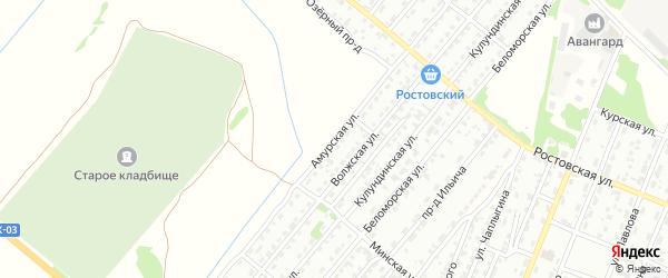 Амурская улица на карте Рубцовска с номерами домов
