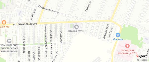 Луговая улица на карте садового некоммерческого товарищества N 3 с номерами домов