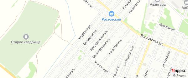 Дальний проезд на карте Рубцовска с номерами домов