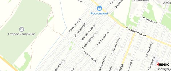 Кулундинская улица на карте Рубцовска с номерами домов