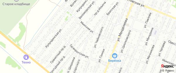 Братская улица на карте Рубцовска с номерами домов