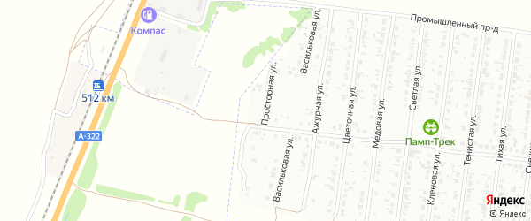 Просторная улица на карте Рубцовска с номерами домов
