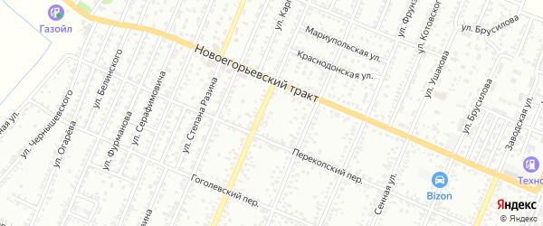 Полевая улица на карте садового некоммерческого товарищества N 7 с номерами домов