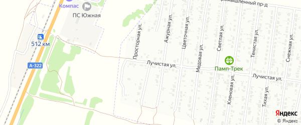 Васильковая улица на карте Рубцовска с номерами домов