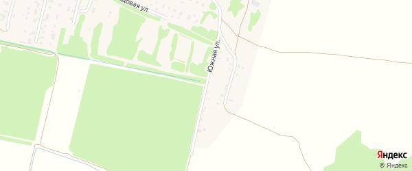 Южная улица на карте поселка Зеленой Дубравы с номерами домов