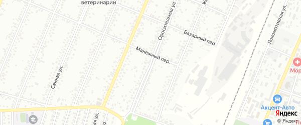 Оросительная улица на карте Рубцовска с номерами домов