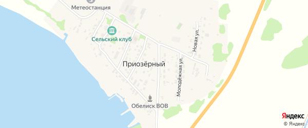 Придорожная улица на карте садового некоммерческого товарищества N 3 с номерами домов