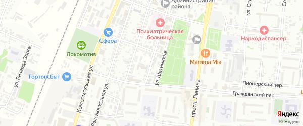 Улица Карла Маркса на карте Рубцовска с номерами домов