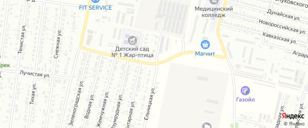 Транспортная улица на карте Рубцовска с номерами домов