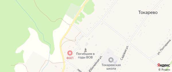 Улица Ленина на карте села Токарево с номерами домов