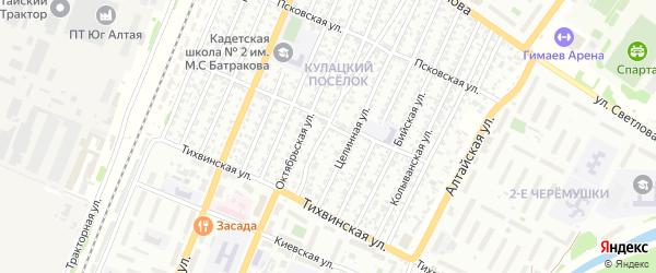 2-я улица на карте садового некоммерческого товарищества N 12 с номерами домов