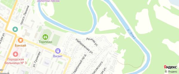 Речная улица на карте садового некоммерческого товарищества N 3 с номерами домов