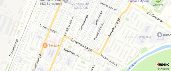 Весенняя улица на карте садового некоммерческого товарищества N 8 с номерами домов