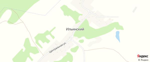 Центральная улица на карте Ильинского поселка с номерами домов
