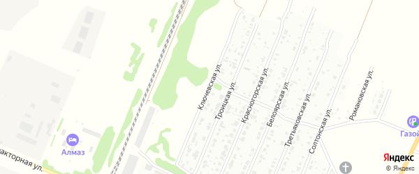 Ключевская улица на карте Рубцовска с номерами домов