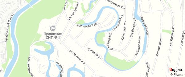 Кленовая улица на карте Рубцовска с номерами домов