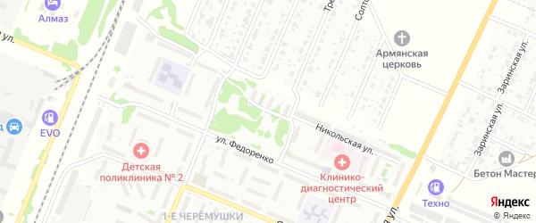 Никольская улица на карте Рубцовска с номерами домов