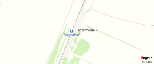 Тракторный разъезд на карте Рубцовска с номерами домов