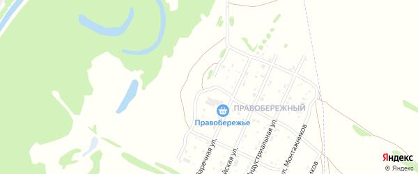 Правобережная улица на карте Рубцовска с номерами домов