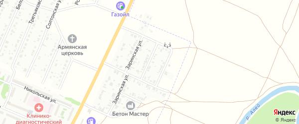 Благовещенская улица на карте Рубцовска с номерами домов