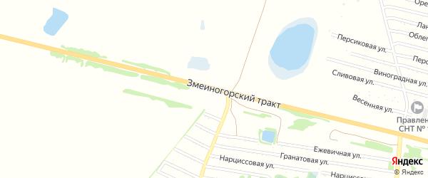 Змеиногорский тракт на карте Рубцовска с номерами домов