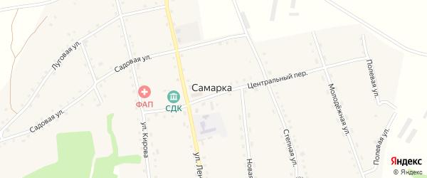 Полевая улица на карте села Самарки с номерами домов