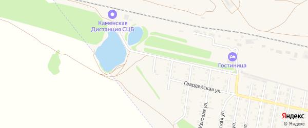 Брестская улица на карте Камня-на-Оби с номерами домов