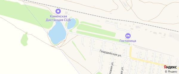 Улица 598 км на карте Камня-на-Оби с номерами домов
