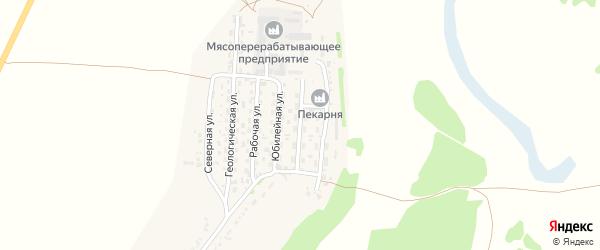 Рудная улица на карте села Безрукавки с номерами домов