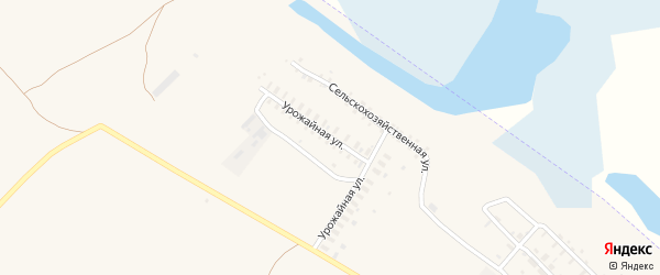 Урожайная улица на карте Камня-на-Оби с номерами домов