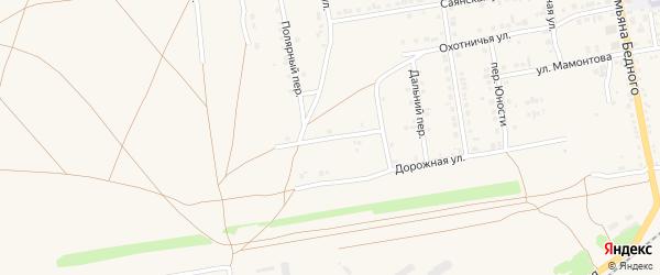 Улица Владимира Вульвача на карте Камня-на-Оби с номерами домов