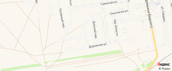 Профсоюзная улица на карте Камня-на-Оби с номерами домов