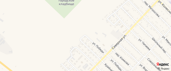 Последняя улица на карте Камня-на-Оби с номерами домов