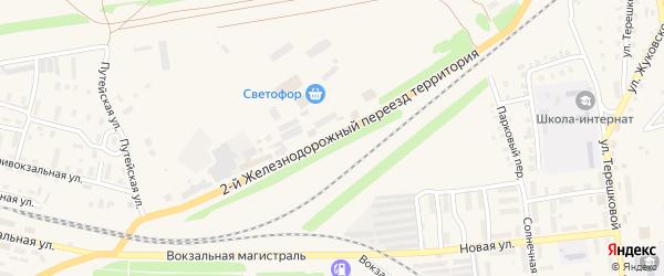 Территория Маслозавод на карте Камня-на-Оби с номерами домов