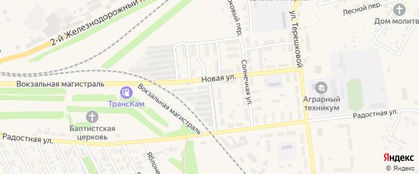 Стройотрядовская улица на карте Камня-на-Оби с номерами домов
