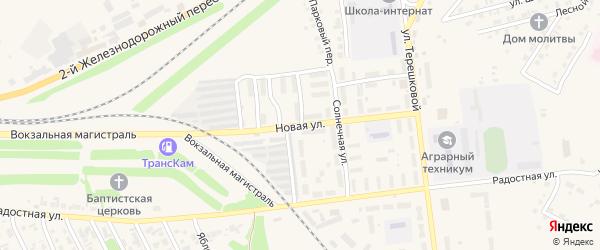 Новая улица на карте Камня-на-Оби с номерами домов