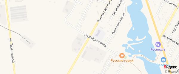 Улица Добролюбова на карте Камня-на-Оби с номерами домов