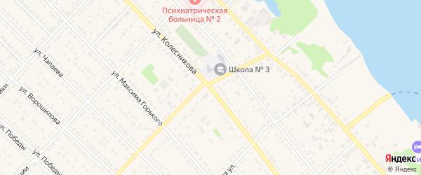 Улица Колесникова на карте Камня-на-Оби с номерами домов