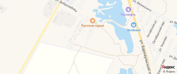 Казанская улица на карте Камня-на-Оби с номерами домов
