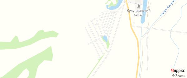 Территория Сдт Мичуринец на карте Камня-на-Оби с номерами домов