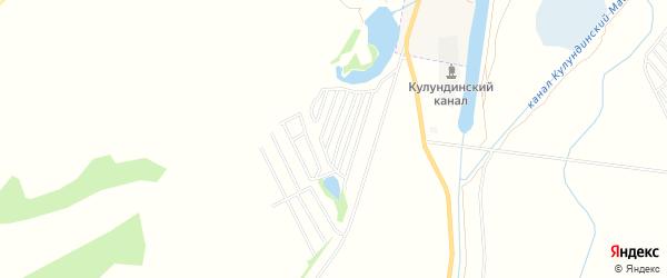 Территория Сдт Кооператор на карте Камня-на-Оби с номерами домов