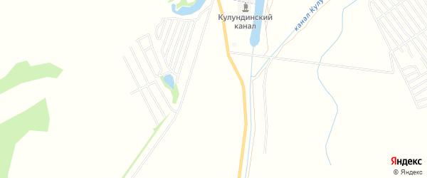 Территория Сдт Дружба на карте Камня-на-Оби с номерами домов