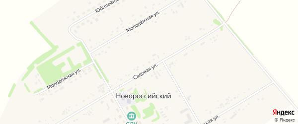 Садовая улица на карте садового некоммерческого товарищества N 16 с номерами домов