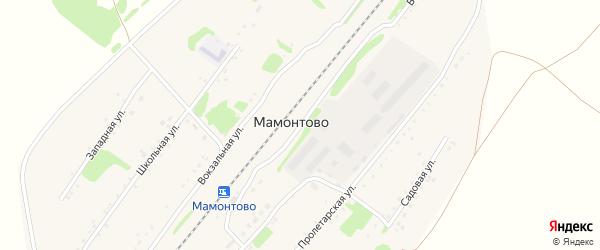 Вокзальная улица на карте станции Мамонтово с номерами домов