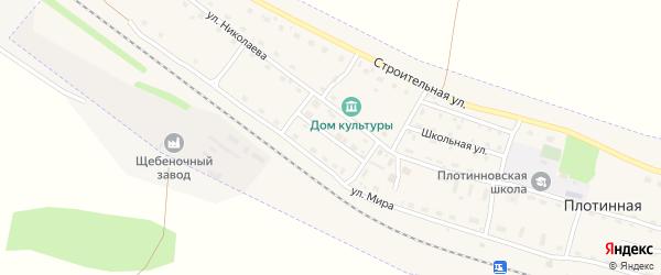 Горный переулок на карте Камня-на-Оби с номерами домов