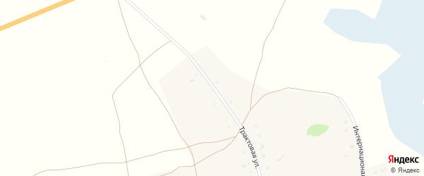 Трактовая улица на карте села Казанцево с номерами домов