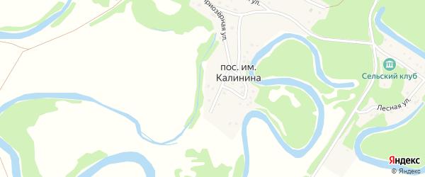 Приозерная улица на карте садового некоммерческого товарищества N 16 с номерами домов