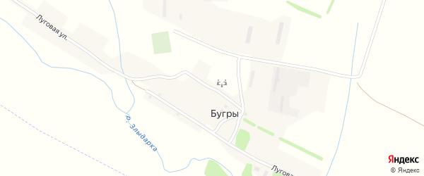Молодежная улица на карте поселка Бугры с номерами домов