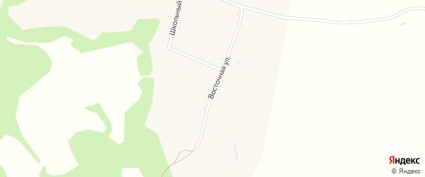 Восточная улица на карте села Покровки с номерами домов